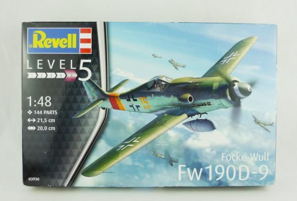 Revell 03930 Level 5 Focke Wulf Fw190D-9 Modellbausatz 1:48