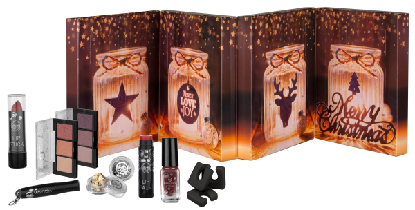 Boulevard de Beauté Beauty Adventskalender zum Aufklappen Make-Up & Accessoires