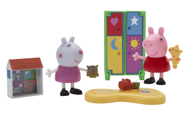 Peppa Pig Spielset Spielspaß mit Luzie Locke Jazwares 97003