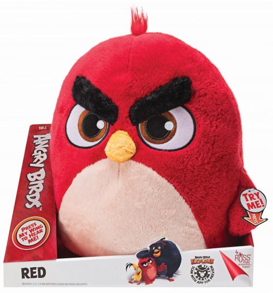 Angry Birds Plüsch Roter Vogel RED mit Sound ca. 20cm ANB0039