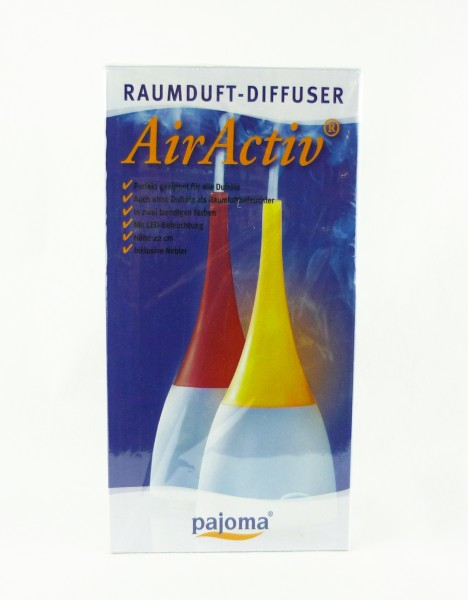 pajoma AirActiv Raumduft-Diffuser LED-Beleuchtung Luftbefeuchter cremefarben