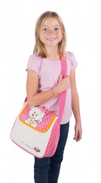 Nici 43357 Kindergartentasche Bär kleine Schwester & Ente 26x24x10cm