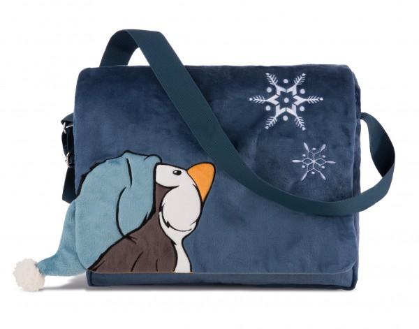 Nici 42045 Schultertasche Pinguin Toddytom Plüsch ca 35,5x28x9,5 cm