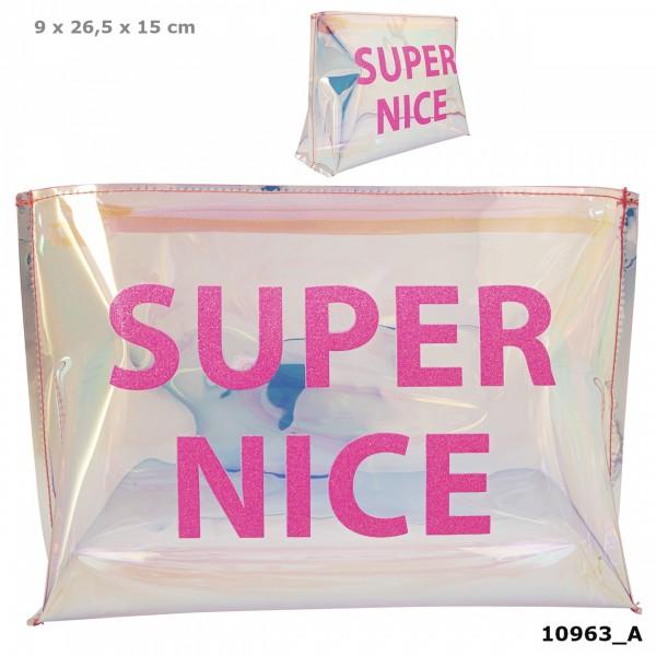 Depesche 10963 TOPModel Kosmetiktasche HOLO Pink Super Nice