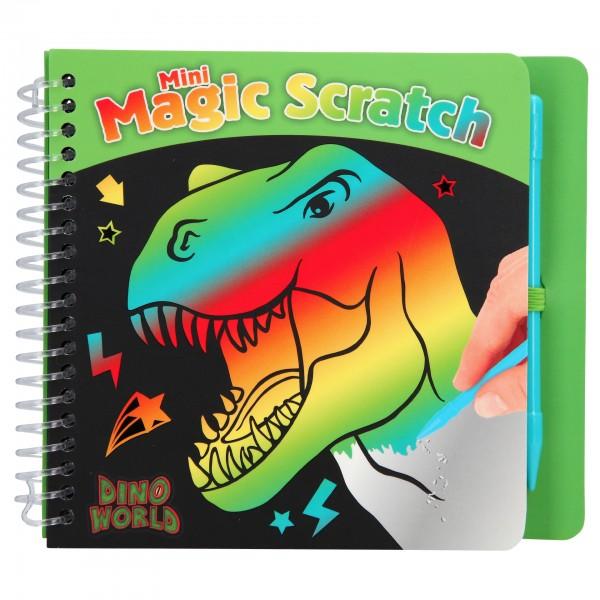 Depesche 10711 Dino World Mini Magic Scratch Book Kratzbilder Dinosaurier