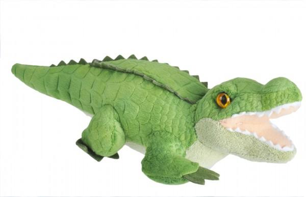 Wild Republic 23322 Wild Calls Alligator ca 20cm Plüsch Kuscheltier mit Sound