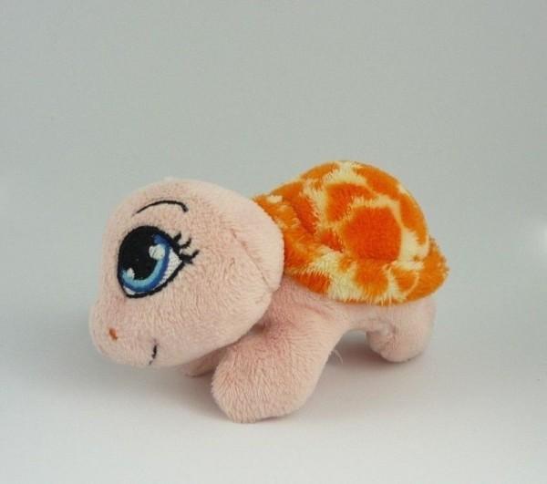 Nici 34838 MagNici Schildkröte pink / orange Plüsch 12cm Magnettier