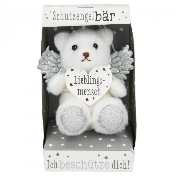Depesche 10854 SchutzengelBär in kleiner Geschenkbox - Lieblingsmensch