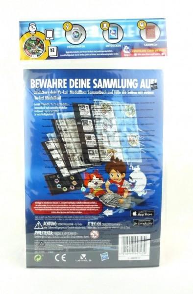 Yo-Kai Watch Medaillium SammelbuchSeiten Serie 1 B6046 + exklusiver Medaille