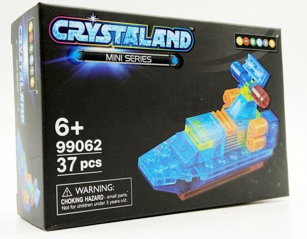 N-Brix Crystaland Mini Series Bausteine - 99062 Boot (37 Teile)