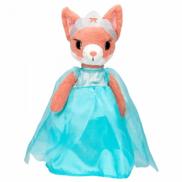SNUKIS Eva der Fuchs im blauen Kleid Plüsch 35cm Depesche 8775