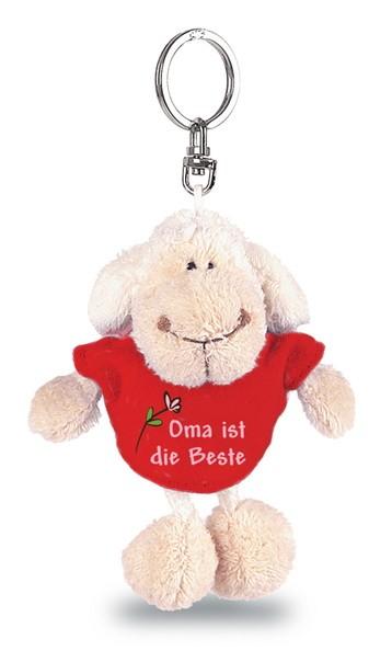 Nici 31551 Schlüsselanhänger Oma ist die Beste ca 12cm Plüsch