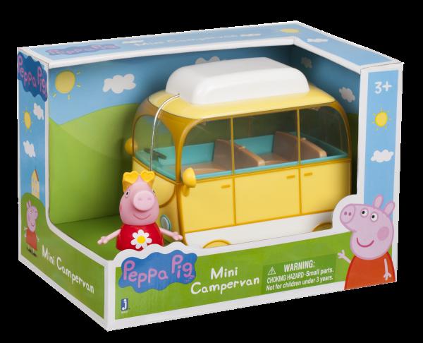 Peppa Pig Spielset Peppa's kleines Wohnmobil Jazwares 95707