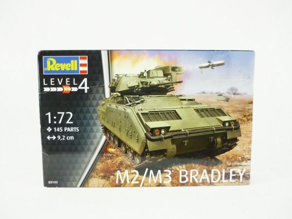 Revell 03143 Level 4 M2M3 Bradley Panzer Modellbausatz 1:72