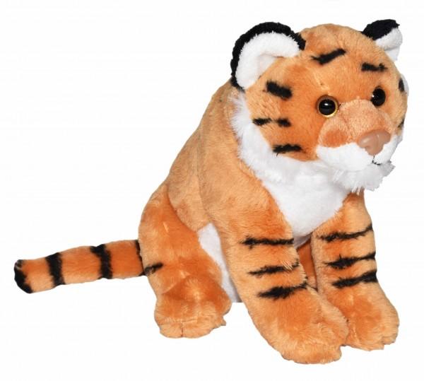 Wild Republic 23325 Wild Calls Tiger ca 20cm Plüsch Kuscheltier mit Sound