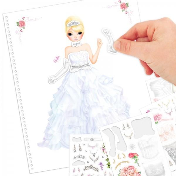 Create your TOPModel Wedding Special Malbuch Hochzeit Depesche 10200