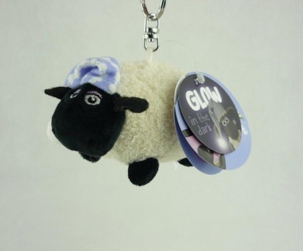 Nici 41461 Schlüsselanhänger Shaun das Schaf Shirley mit Schlafmütze 10cm Plüsch