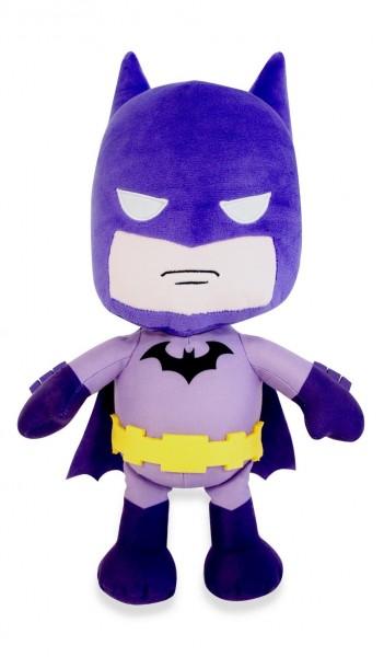 DC Comics DC Super Friends Plüsch Kuscheltier ca 27cm - Batman Lila 0+