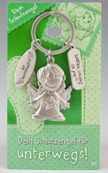 Depesche 7518 Schutzengel Schlüsselanhänger Nr. 009 Schutz für unterwegs
