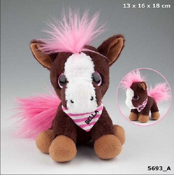 SNUKIS Bella das Pferd Plüsch 18cm Depesche 5693 Kuscheltier