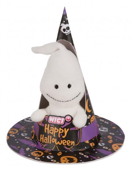 Nici 43670 Geist mit Loop ca 10cm Plüsch Happy Halloween