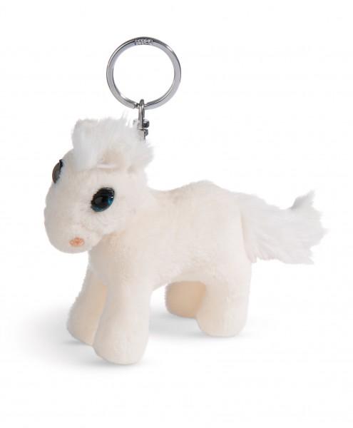 Nici 44890 Schlüsselanhänger weißes Pferd White Peach stehend ca 10cm