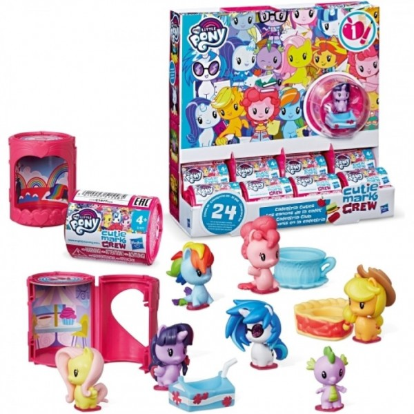 My Little Pony Ponies Cutie Mark Crew Freundschaftsparty Sammelfigur E1977