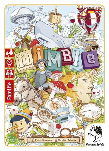 nimble (Edition Spielwiese) Kartenspiel Familienspiel Pegasus 18325G