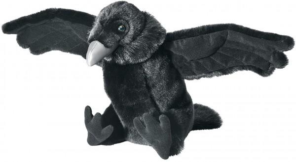 Wild Republic 81089 Schwarzer Rabe Raven ca 30cm Cuddlekins Plüsch