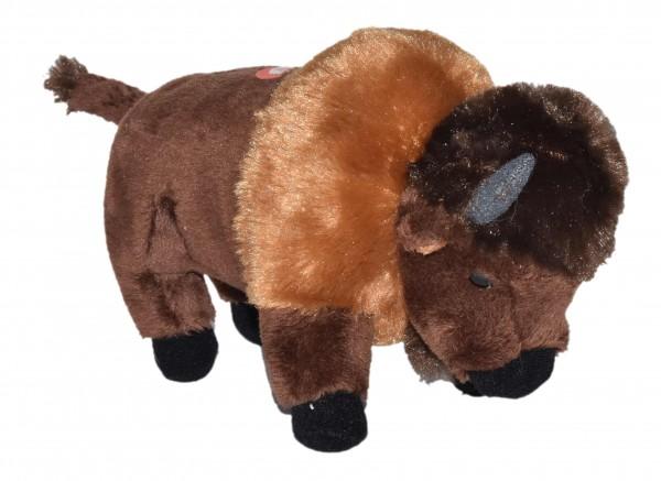 Wild Republic 23311 Wild Calls Bison ca 20cm Plüsch Kuscheltier mit Sound