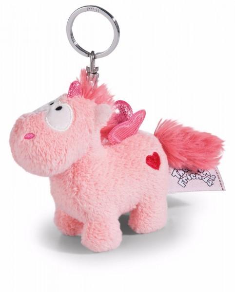 Nici 41780 Einhorn Merry Heart rosa Schlüsselanhänger 10cm Plüsch Bean Bag
