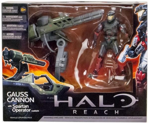 Halo Reach Fahrzeug-Upgradepaket Warthog Gauss Cannon +Spartan Operator