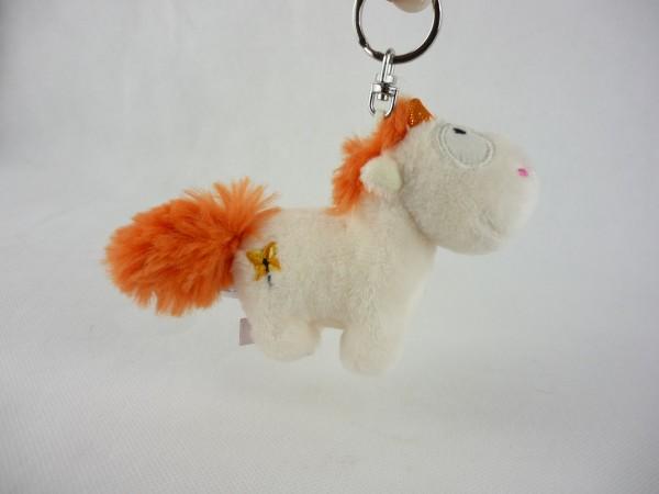 Nici 42400 Einhorn Theodor & Friends orange Schlüsselanhänger Bean Bag ca 10cm