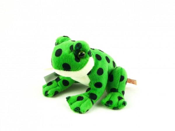 Teddy Hermann 92030 Frosch grün Plüsch Kuscheltier ca 13cm