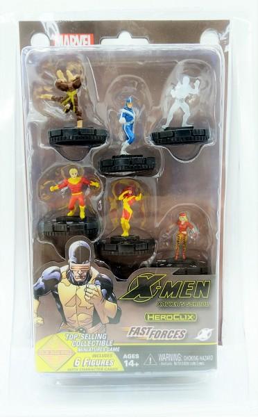 Marvel HeroClix X-Men - Xavier's School - Fast Forces - mit 6 Figuren