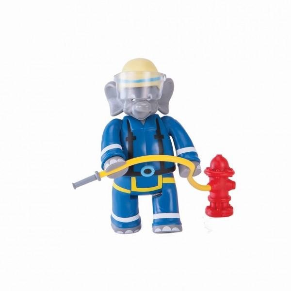 BENJAMIN BLÜMCHEN als Feuerwehrmann 9cm Figur Jazwares 10806