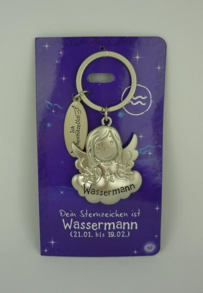 Depesche 7598 Schutzengel Sternzeichen Schlüsselanhänger 010 Wassermann