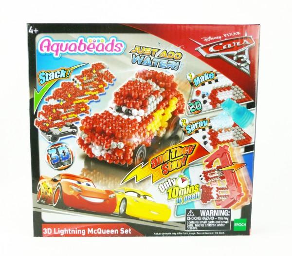 Disney Pixar Cars 3 Aquabeads 3D Lightning McQueen KreativSet