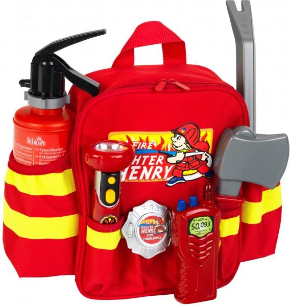 """Kinderrucksack Feuerwehr """"Firefighter Henry"""" Licht + Feuerlöscher und mehr 8900"""