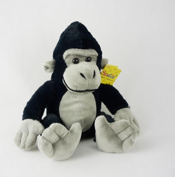 Sunkid 39062 Gorilla ca 23cm Plüsch Kuscheltier Affe sitzend
