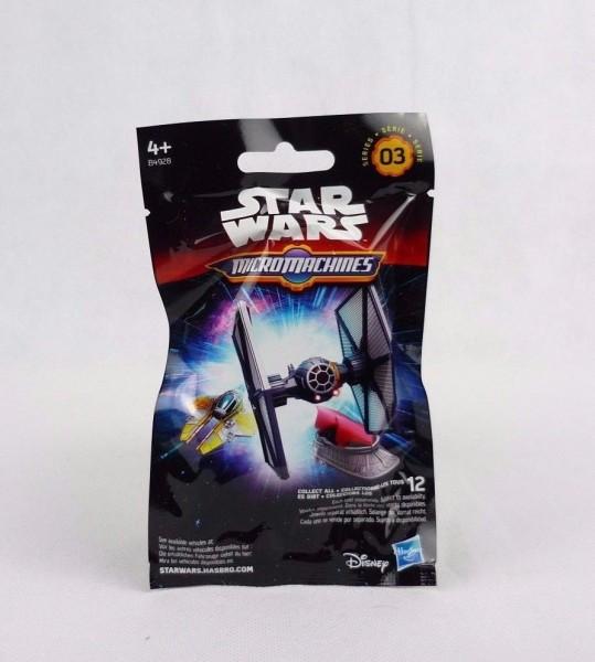 Star Wars Micromachines Sammeltüte Serie 3 Hasbro B4928 Mysterybag Blindbag