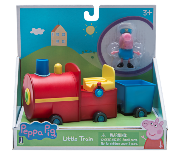 Peppa Pig Wutz Georges little Train Schorschs kleiner Zug Jazwares 95673