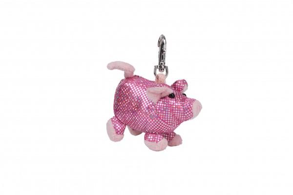Schaffer 2701 Schlüsselanhänger Anhänger Glitz & Glamour Schwein ca 8cm