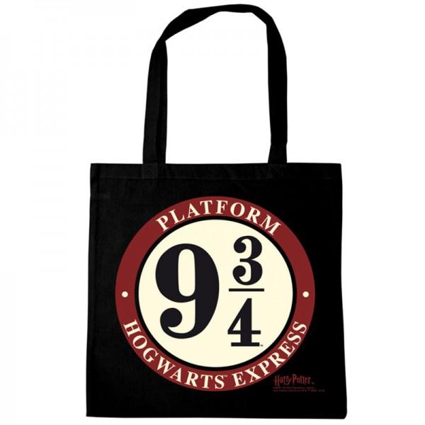 Baumwolltasche / Stofftasche / Einkaufstasche Harry Potter Platform 9 3/4 (KuK)