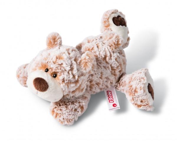 Nici 44468 Daddy-Bär liegend Classic Bear Bär ca 20cm Plüsch Kuscheltier