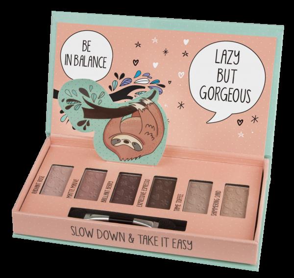 fesh! Eyeshadow Palette Chillin´ In Style Lidschattenpalette Faultier vegan