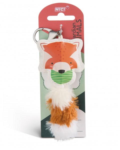 Nici 45590 Guardian Animals Roter Panda 12cm Taschenanhänger Kunstleder