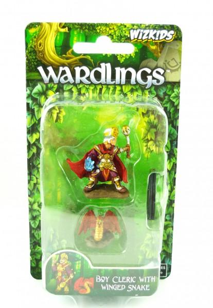 WizKids Wardlings Miniaturfiguren: Boy Cleric & Winged Snake WKA73321