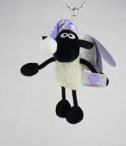Nici 41460 Schlüsselanhänger Shaun das Schaf mit Schlafmütze 10cm Plüsch
