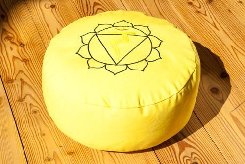 Berk YO-30-3 Solarplexuschakra Meditationskissen mit Buchweizen gefüllt ca 36x15cm
